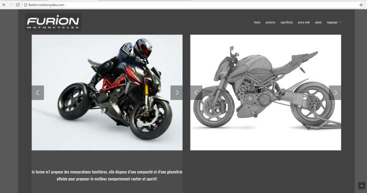 Furion motorcycles web