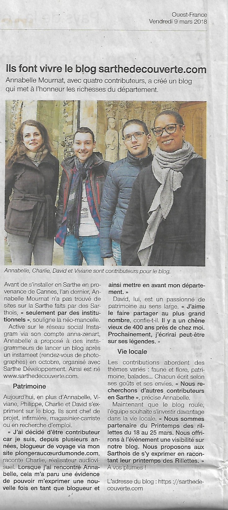 Ouest France 09032018