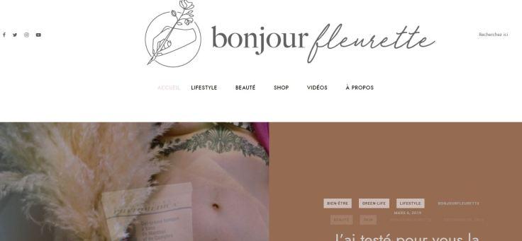 bnojour fleurette