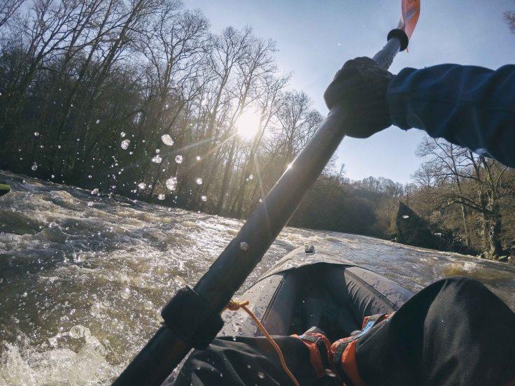balade en kayak Sarthe Loir