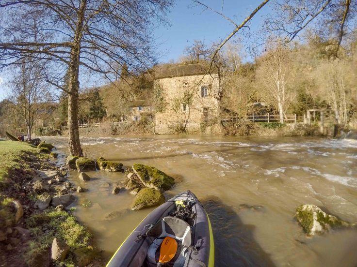 balade en kayak Sarthe Loir .